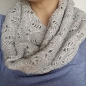 4/$50 - Grey Tunnel/Infinity Scarf - The Limited